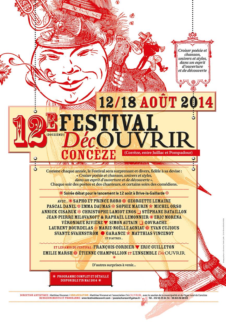Festival DécOUVRIR de Concèze