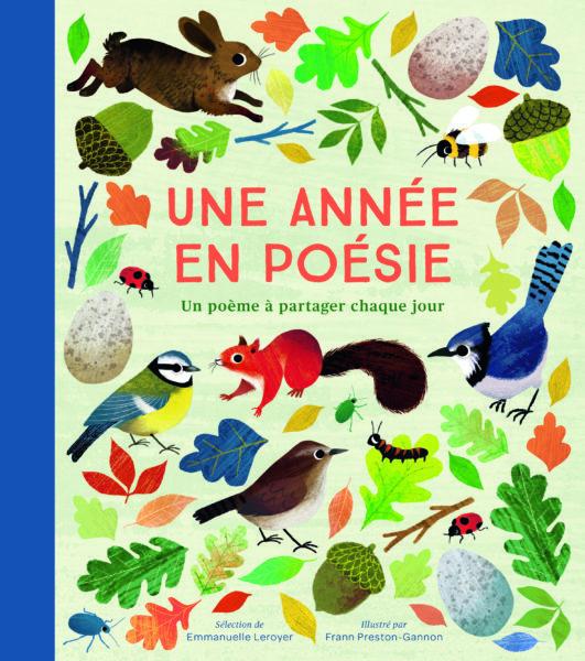 Une année en poésie - Gallimard Jeunesse